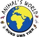 Animal World Logo Tierfutter & mehr...Rund ums Tier. Das richtige Futter vom Futterprofie. Tierbedarf online kaufen. www.animalsworld.de